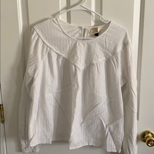 White linen blouse - Universal Thread